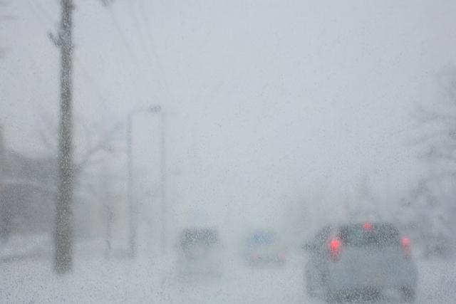 吹雪のイメージ